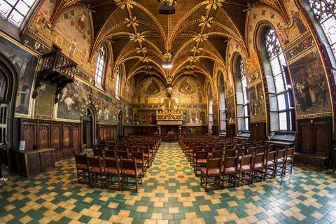 Gotischer Saal im Stadhius