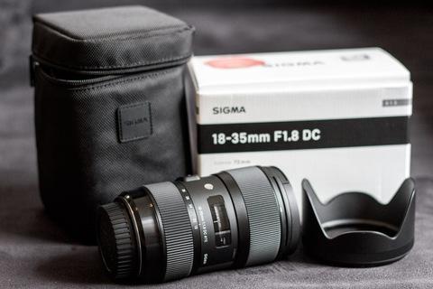 Lieferumfang Sigma 18-35mm F1.8 DC