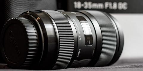 Sigma 18-35mm F1.8 DC