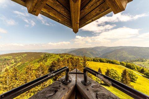 Aussicht vom Schauinslandturm