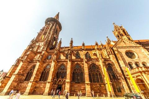 Freiburger Münster Außenansicht