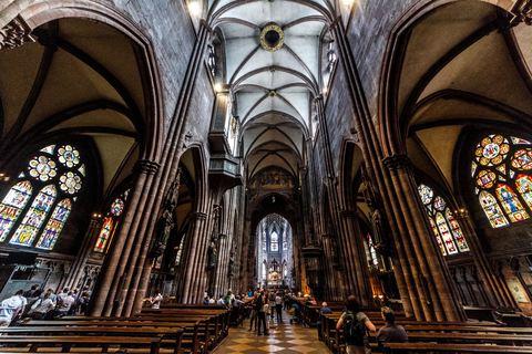 Freiburger Münster Innenansicht