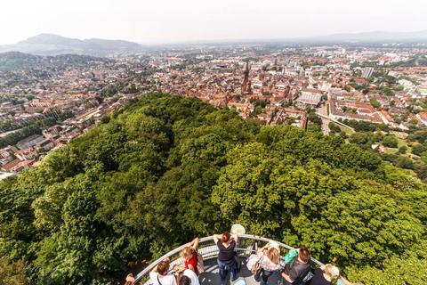 Aussicht vom Aussichtsturm Schlossberg