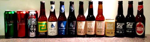 Isländische Biere