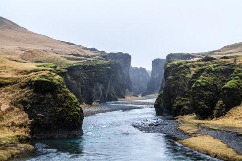 Unterer Teil von Fjaðrárgljúfur