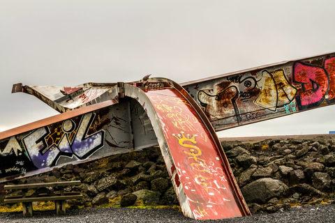Skeiðará Brückenmonument
