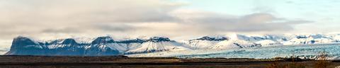 Panorama von Skaftafell
