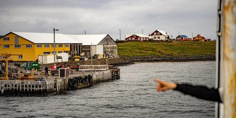 Mit der Fähre in die Westfjorde