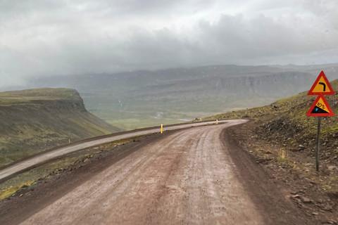 Straßen über die Westfjorde