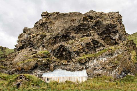 Drangshlíð Drangur Rock