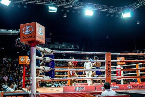 Thai Boxen im ETV Studio