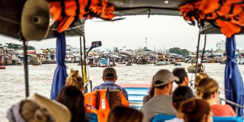 Von Cần Thơ nach Hồ Chí Minh City