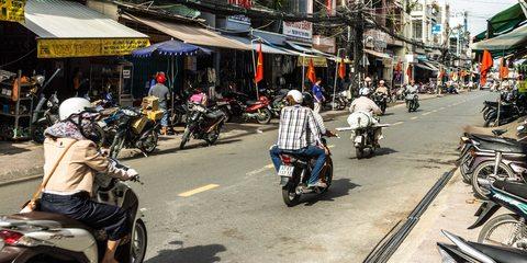 Von Sihanoukville nach Cần Thơ