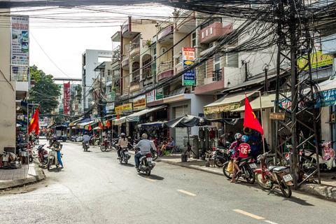 Straße in Châu Đốc