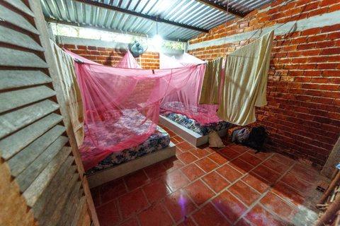 Zimmer unseres Homestays in Cần Thơ