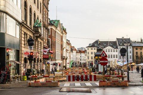 Baustelle in Kopenhagen