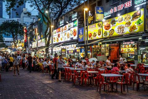 Jalan Alor Street Food Night Market