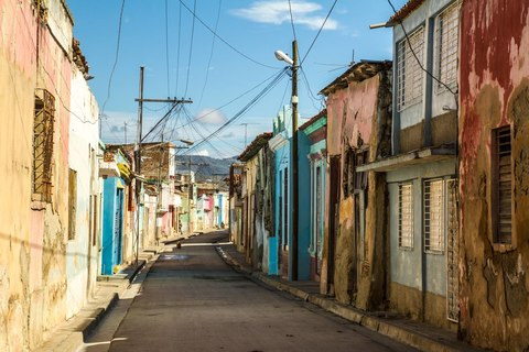 Die Straßen von Santiago