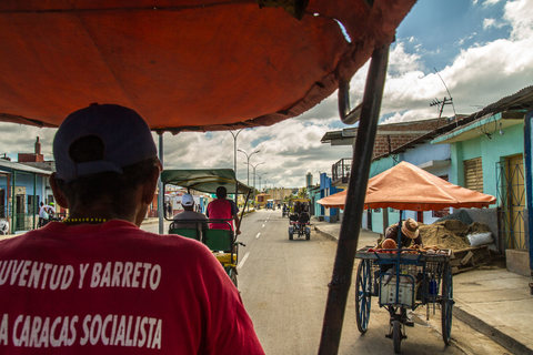 Mit dem Bicitaxi durch Santiago de Cuba