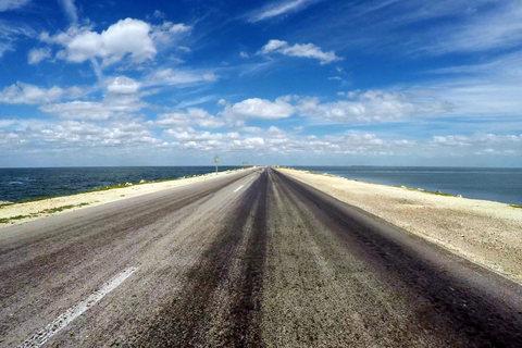 Dammstraße nach Cayo Coco