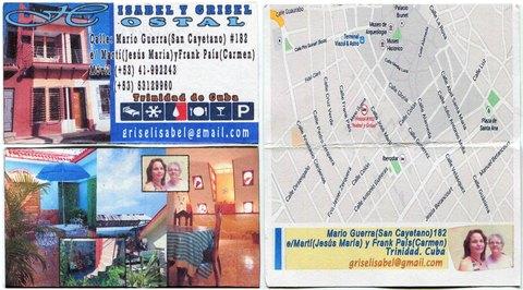 Visitenkarte Casa Bertica y Noel