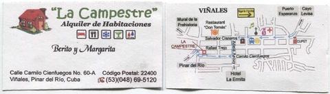 Visitenkarte Casa La Campestre