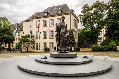 Monument of Grand-Duchess Charlotte