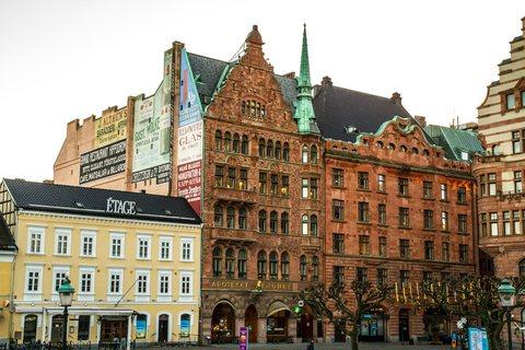 Häuser am Stortorget