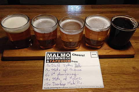Malmö Brewing Co Tasting