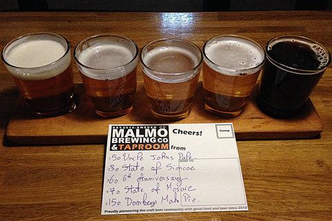 Malmö Brewing Co Tasting