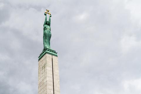 Riga Freiheitsdenkmal