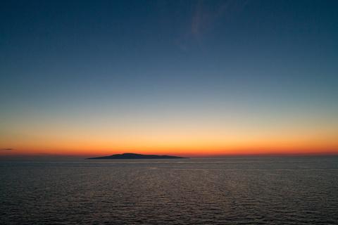Weiße Nacht auf der Ostsee