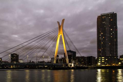 Chuo-Ohashi Brücke
