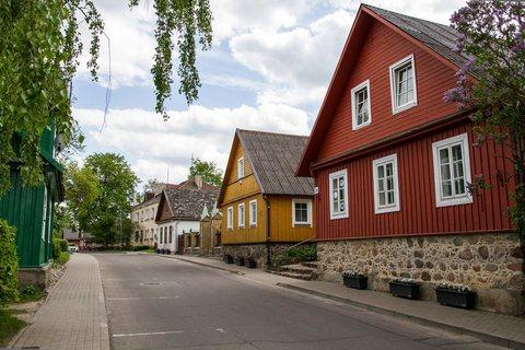 Hauptstrasse durch Trakai