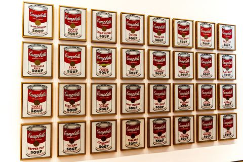 Andy Warhol im Museum of Modern Arts