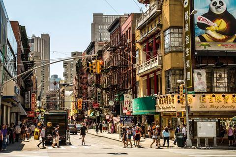 Kreuzung in Chinatown