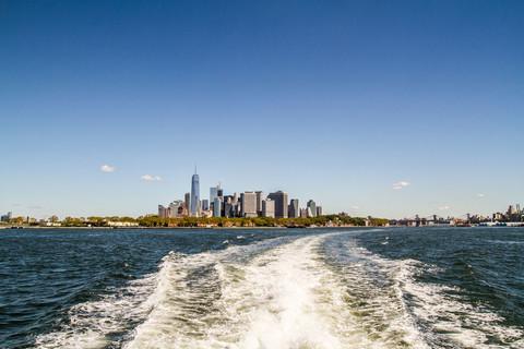 Mit dem Watertaxi auf dem East River