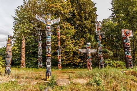 Totem Poles of Vancouver