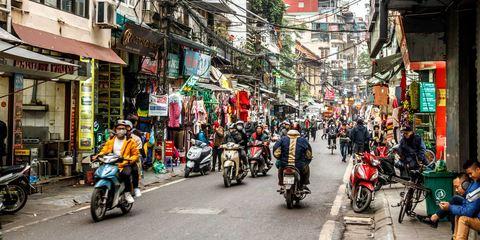 Von Ha Long nach Hanoi