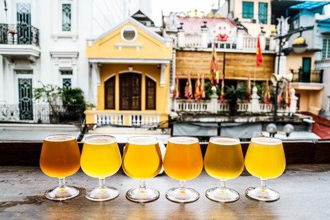Beer Tasting im Peachy Craft Beer Pub