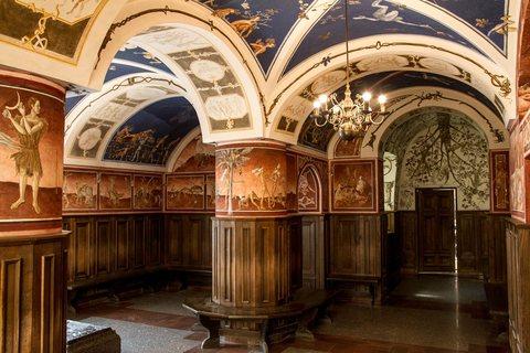 Die Fresken im Zentrum für Lituanistik